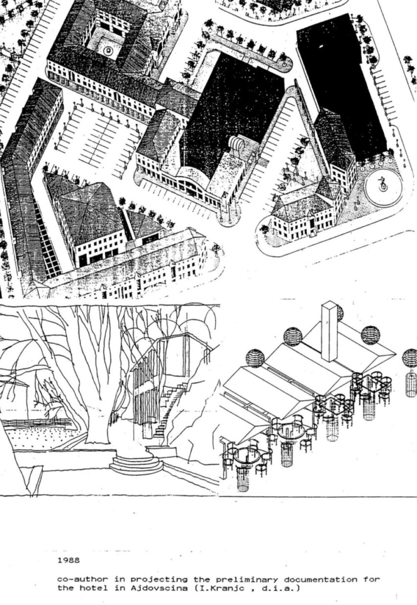 Zasnova hotela