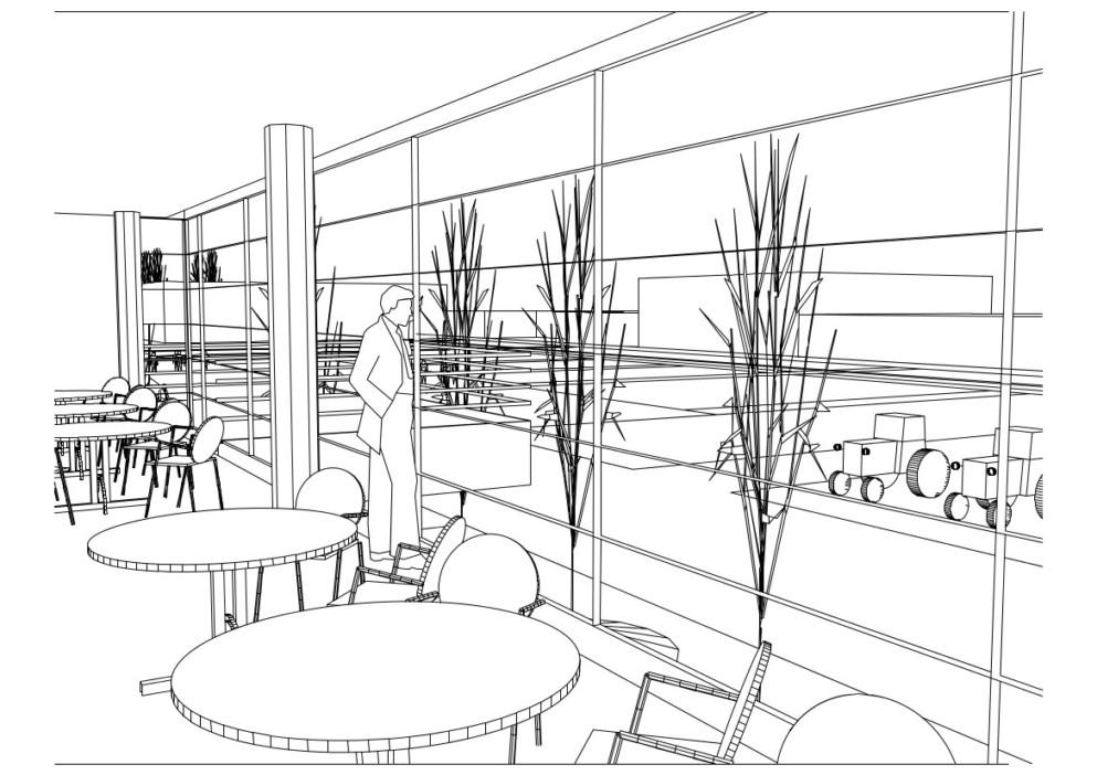 Restavracija v nadstropju